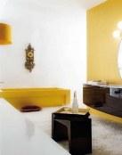 ¿Baños en color amarillo?