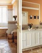 Baños rústicos pequeños, un estilo perfecto en tu hogar