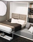 Cuando hay poco espacio, opta por las camas Murphy