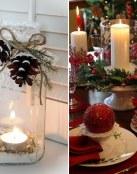 Centros de mesa para Navidad
