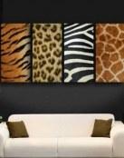 Añade una decoración muy salvaje a tu casa