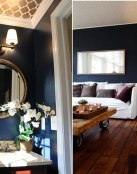 Ideas de decoración navy en azul oscuro