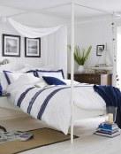 El estilo marinero también en los dormitorios