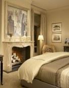 La elegancia de los dormitorios en color crema