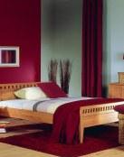 Dormitorios con paredes combinadas