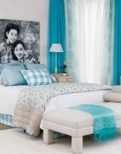 Decoración en color celeste para tu hogar