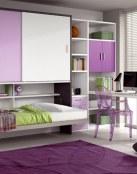 Dormitorios juveniles pequeños pero muy modernos