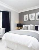 Descubriendo los dormitorios elegantes en gris