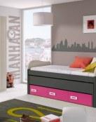 Dormitorios infantiles y juveniles de Merkamueble