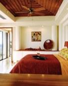 Los dormitorios están preparados para la decoración de otoño