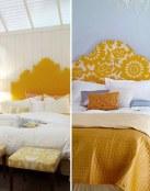 Dormitorios en color amarillo, una buena elección