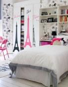 Murales de lugares en las habitaciones juveniles