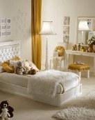 Habitaciones en color dorado, todo un lujo en el hogar