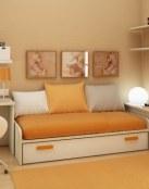 Habitaciones pequeñas pero a todo color