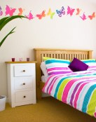 ¡Mariposas para tus paredes!