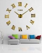 Un reloj gigante 3D para decorar tus salones