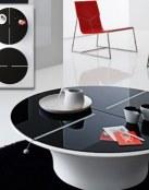 Mesa de café redonda