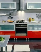 Muebles en color rojo, una apuesta muy vibrante