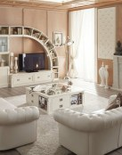 Ideas para las paredes de un salón elegante