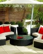 Colores rojos en tu jardín