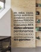 Decora tus paredes con mensajes