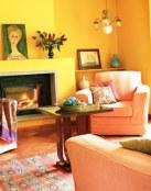 Combinaciones de colores en la decoración de salones