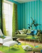 Dos colores principales para tu salón, el azul y verde