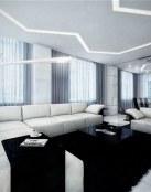 Salones combinados en dos colores básicos