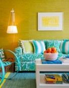 La decoración con más color para tu salón