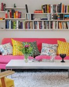 El sofá en rosa para un aire nuevo en tu salón