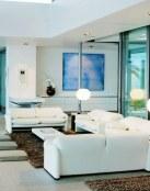 Salones abiertos con un claro estilo moderno