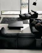 El color negro en decoración siempre marca tendencia