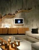 Salones pequeños con decoración muy sencilla pero original