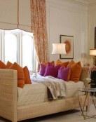 Salones con decoración romántica