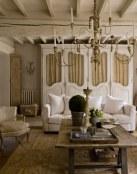 6 salones de estilo rústico y vintage