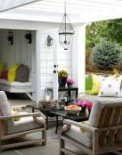 Terrazas con salones elegantes incorporados