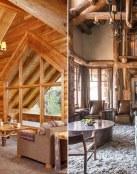 La belleza de los interiores de madera