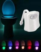 Sensor LED para iluminar el WC