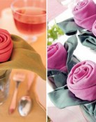 3 ideas para doblar las servilletas