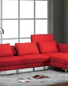 Sofás en color rojo para tu decoración