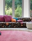 Telas para tapizar los sofás del salón