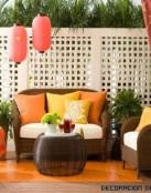 Terrazas decoradas a todo color