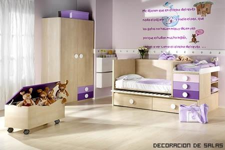 Una habitaci n para cada ni o - Muebles de princesas ...
