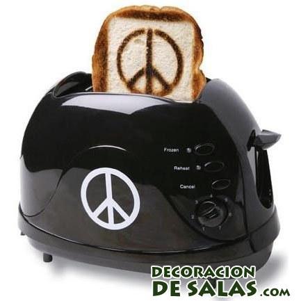 tostadora simbolo paz