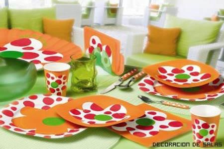 Mesas coloridas