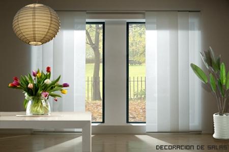 ventanas con cortinas