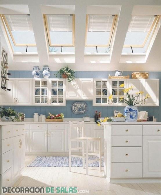 Ventanas en el techo para una luz m s natural for Ventana en el techo