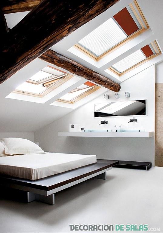 Ventanas en el techo para una luz m s natural - Moscas pequenas en el techo ...