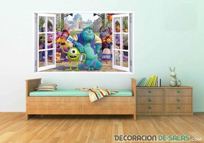 Vinilos en 3d para decorar tu hogar for Vinilos pared aliexpress