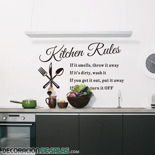 Decora tu hogar con stickers o pegatinas